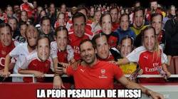 Enlace a Messi no podrá dormir al ver la imagen