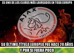 Enlace a El Ajax ha desaparecido en Europa