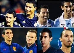 Enlace a ¿Di María tiene suerte de jugar con ellos o ellos con Di María?