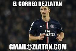 Enlace a El correo electrónico de Zlatan