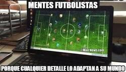 Enlace a Mentes futbolistas