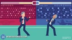 Enlace a GIF: Y hoy empieza la Premier. ¿Será Mou vs Wenger?