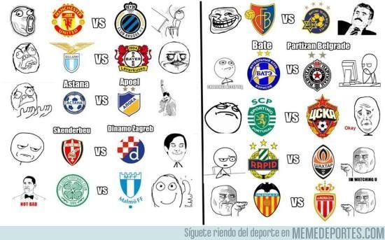 652303 - Los memes de los play-offs de Champions