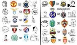 Enlace a Los memes de los play-offs de Champions