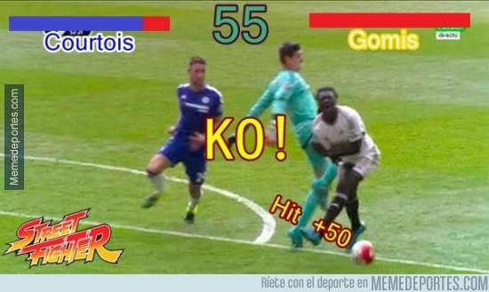 652885 - KO! Courtois wins!