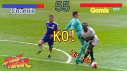 Enlace a KO! Courtois wins!