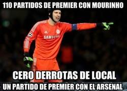 Enlace a Diferencia de Cech en el Chelsea y Arsenal en Premier