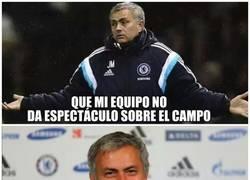 Enlace a Mourinho sabe lo que hace