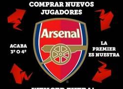Enlace a El ciclo del Arsenal estos últimos años