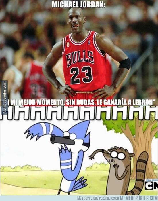 653891 - Michael Jordan reta a LeBron