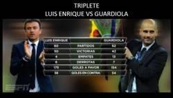 Enlace a El triplete de Luis Enrique VS el triplete de Guardiola
