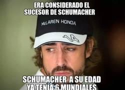 Enlace a Alonso no sabe cuando dejar de ser una joven promesa