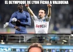 Enlace a El Olympique de Lyon ficha a Valbuena