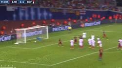 Enlace a GIF: Gol de Pedrooooo. El Barça pone el quinto. Brutal partido