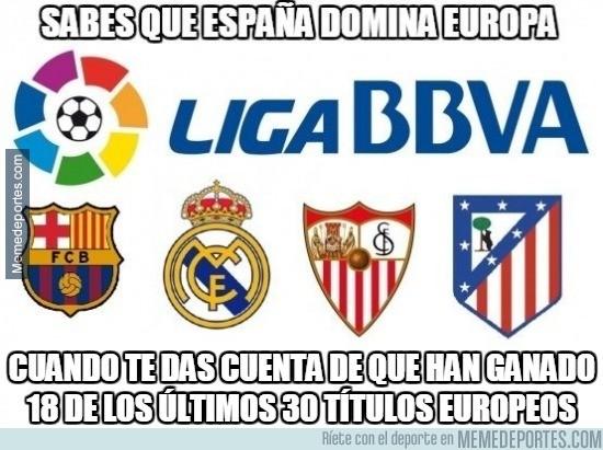 655729 - Europa es de estos 4 equipos en los últimos años