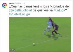 Enlace a Ojo a la respuesta al Twitter de La Liga