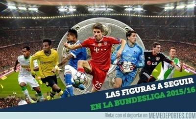 656419 - Las figuras a seguir en la Bundesliga 2015/16 que empieza este fin de semana