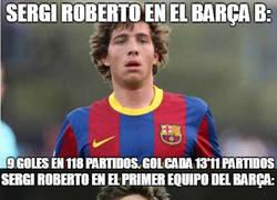 Enlace a Repasemos la carrera de Sergi Roberto