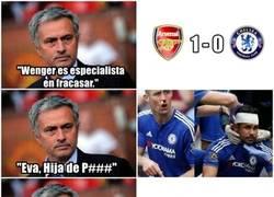 Enlace a ZAS, en toda la boca a Mourinho