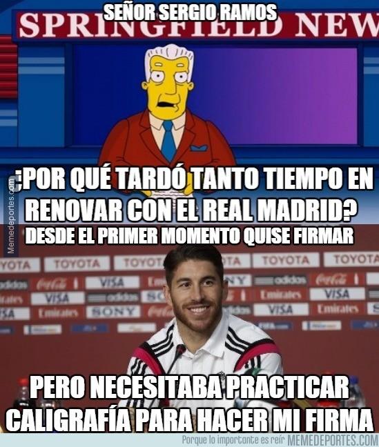 659496 - La razón por la que Ramos tardó tanto, por @_Moroncito_