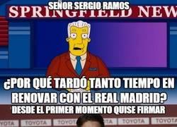 Enlace a La razón por la que Ramos tardó tanto, por @_Moroncito_
