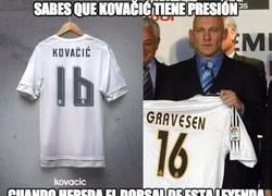 Enlace a Kovačić va a tener toda la presión del mundo