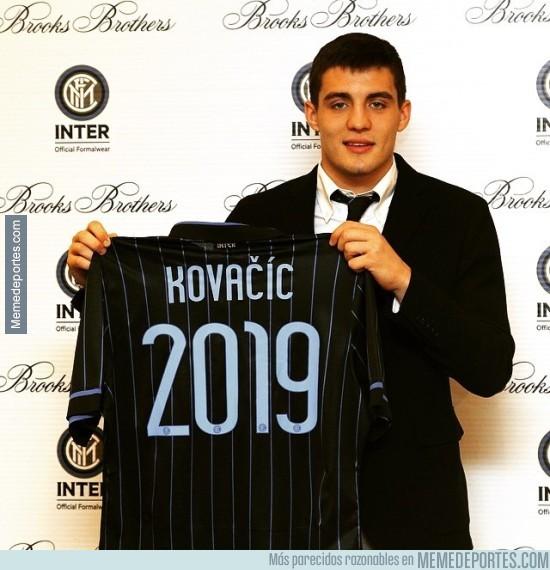 661853 - Kovacic, otro que renueva y se va a los pocos meses. Estarán contentos en el Inter