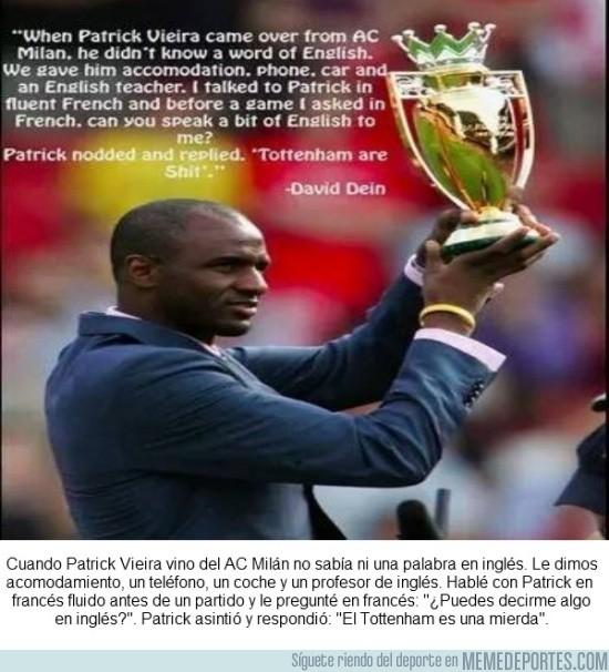 662162 - Declaraciones de David Dein, ex vicepresidente del Arsenal, sobre Patrick Vieira