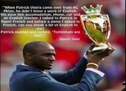 Enlace a Declaraciones de David Dein, ex vicepresidente del Arsenal, sobre Patrick Vieira
