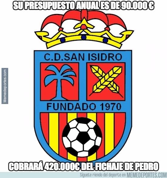 662476 - Los del San Isidro son los que están más contentos con esto del fichaje de Pedro