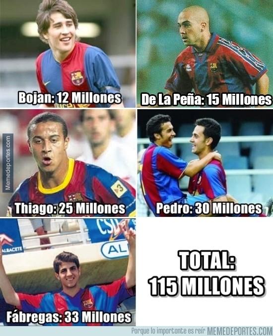 662540 - Con las ventas de estos canteranos del Barça, tienen para pagar una pierna de Neymar