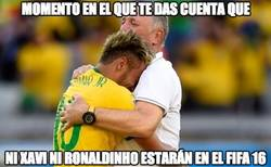 Enlace a Un FIFA sin Xavi ni Ronaldinho