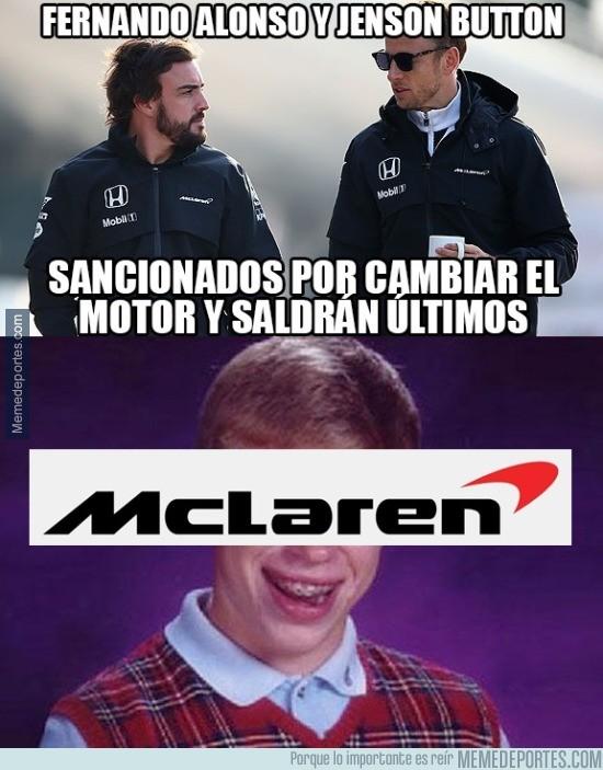 663637 - Bad Luck McLaren