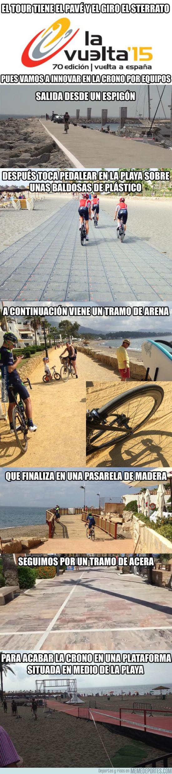 663727 - La Gymkana ciclista a España