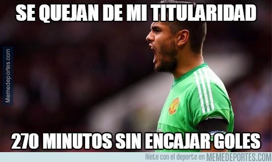 664269 - No le está yendo tan mal al United con Romero
