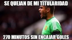 Enlace a No le está yendo tan mal al United con Romero
