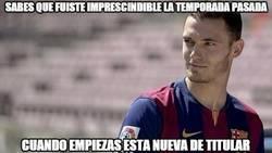 Enlace a El Barça tenía Vermaelendependencia