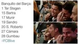 Enlace a Cuando ves el banquillo del Barça