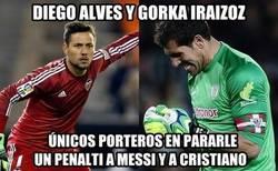 Enlace a Diego Alves y Gorka Iraizoz