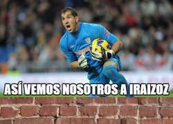 Enlace a Iraizoz, un muro para el Barça
