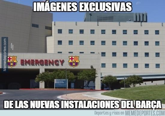 664964 - Lesionados everywhere del Barça