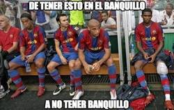 Enlace a Decadencia en el banquillo del Barça