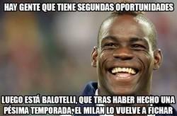 Enlace a Balotelli vuelve al Milan con una cláusula 'anti-líos'