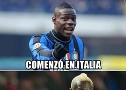 Enlace a Balotelli sólo conoce 2 ligas