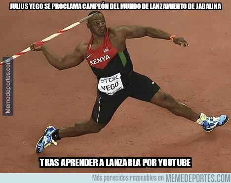 667237 - Julius Yego, el campeón mundial de jabalina que aprendió a lanzarla con YouTube