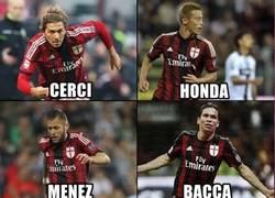 Enlace a La superpoblada delantera del Milan