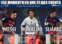 Enlace a El Barcelona se podría llevar todos los premios de la UEFA