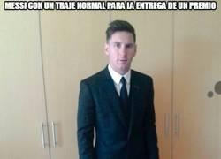 Enlace a Que no nos engañen, que traigan al Messi de verdad