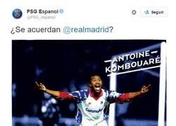 Enlace a El PSG calentando el partido contra el Real Madrid