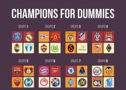 Enlace a Si no entiendes nada de fútbol y menos de la Champions, aquí está la solución